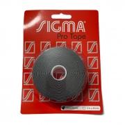 Fita Protetora Sigma  - Preto - 25mm - Embalagem com com 5 metros