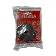 Fita Protetora Sigma  - Preto - 35mm - Embalagem com com 5 metros