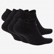 Meia Nike Everyday Cushioned 6 Pares - Preto - Sem cano