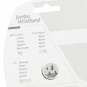 Munhequeira Babolat Jumbo - Grande - 1 Par - Branco