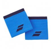 Munhequeira Babolat Logo - 1 Par - Azul/Azul Escuro