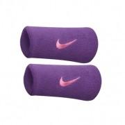 Munhequeira Nike Grande Swoosh Double Wide - Roxo/Vermelho - 01 Par