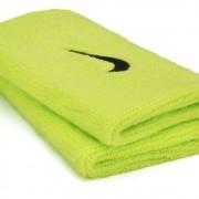 Munhequeira Nike Grande Swoosh Double Wide - Verde Limão - 01 Par