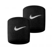 Munhequeira Nike Swoosh Pequena - Preta - 01 Par