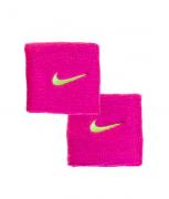 Munhequeira Nike Swoosh Pequena - Rosa/Amarelo - 01 Par
