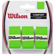 Overgrip Wilson Pro Verde-  3 Unidades