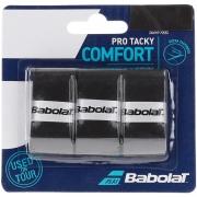 Overgrip Babolat Pro Tacky Comfort - 3 Unidades Preto