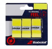 Overgrip Babolat VS Original Feel - 3 Unidades Amarelo