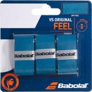 Overgrip Babolat VS Original Feel - 3 Unidades Azul