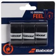 Overgrip Babolat VS Original Feel - 3 Unidades Preto