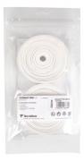 Overgrip Tecnifibre Contact Pro 0.6mm - Embalagem com 30 unidades - Branco