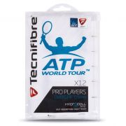 Overgrip Tecnifibre Pro Players ATP - 12 Unidades Branco