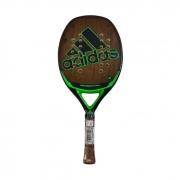 Raquete de Beach Tennis Adidas #GREENBEACHTENNIS 24 Furos