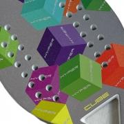Raquete de Beach Tennis Hyper Sports Cube Fiberglass