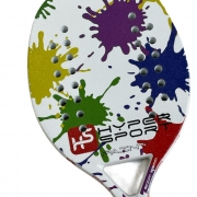 Raquete de Beach Tennis Hyper Sports Paint Carbon 3K