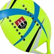 Raquete de Beach Tennis Hyper Sports Verde Limão/Azul