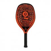 Raquete de Beach Tennis Turquoise Black Death 10.2 Laranja