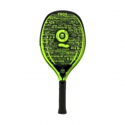 Raquete de Beach Tennis Turquoise Black Death 10.2 Verde ácido