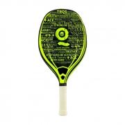Raquete de Beach Tennis Turquoise Black Death Challenge Verde Ácido