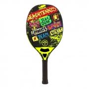 Raquete de Beach Tennis Turquoise Concept Amarelo