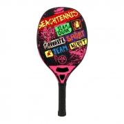 Raquete de Beach Tennis Turquoise Concept Rosa