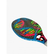 Raquete de Beach Tennis Turquoise DNA 2020 - Azul