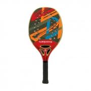 Raquete de Beach Tennis Turquoise Revolution 2.1 Vermelha