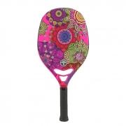 Raquete de Beach Tennis Turquoise Samsara 1.1 Rosa