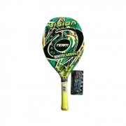 Raquete de Beach Tennis Vision White Carbon Team 2020