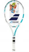 Raquete de Tênis Babolat Drive G Lite Branca/Azul Piscina