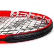 Raquete de Tênis Infantil Babolat Strike Jr 26 Vermelho/Preto/Branco