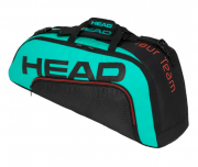 Raqueteira Head Tour Team 6R Combi New - Verde/Laranja