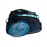 Raqueteira Turquoise Beach Tennis Black Death Super Pro Azul