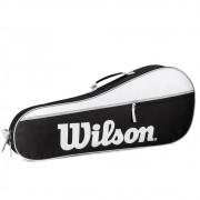 Raqueteira Wilson Advantage Pro Triple Bag Preta/Branca/Cinza - X3