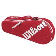 Raqueteira Wilson Advantage Team X3 Vermelho