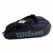 Raqueteira Wilson Tour 2 Comp Black