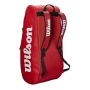Raqueteira Wilson Tour 2 Comp Large Vermelha