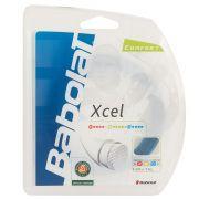 Corda Babolat Xcel 15L 1.35mm Azul - Set Individual