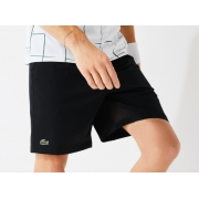 Shorts Lacoste Sport Stresch Preto GH8107 21 031