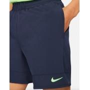 Shorts NikeCourt Dri-FIT ADV Rafa Nadal Masculino Azul Marinho