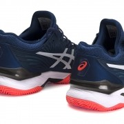 Tênis Asics Court FF 2 Clay - Mako Blue/White
