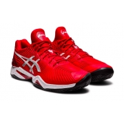 Tênis Asics Court FF Novak Clay L.E. - Classic Red/White