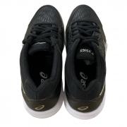 Tênis Asics Feminino Gel-Dedicate 6 Clay - Black/White