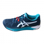 Tênis Asics Gel-Resolution 8 - Mako Blue/White