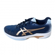 Tênis Asics Solution Speed FF - Peacoat/Rose Gold