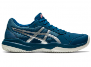 Tênis Infantil Asics Gel-Game 7 Clay/OC GS - Mako Blue/Pure Silver
