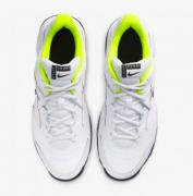 Tênis Nike Court Lite 2 - White/Black-Volt