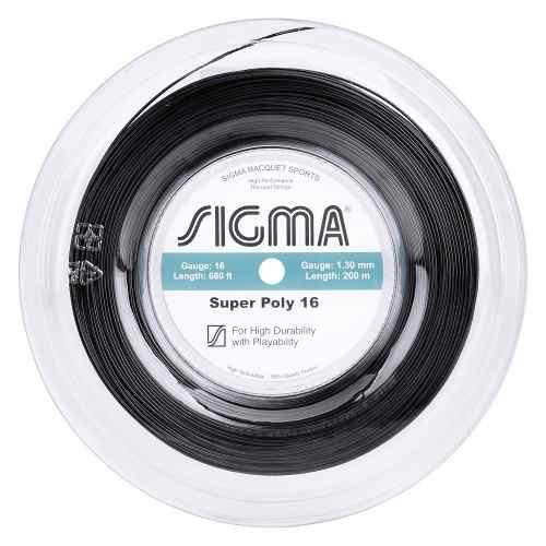 Corda Sigma Super Poly 16 Preta