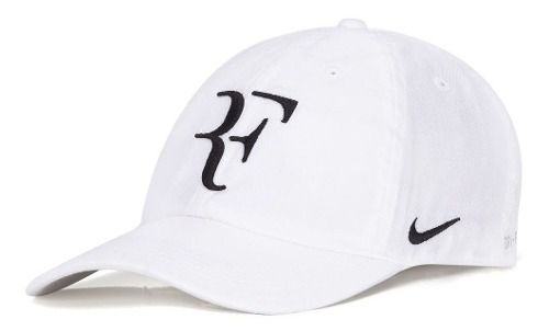 Boné Nike Heritage86 Roger Federer Branco
