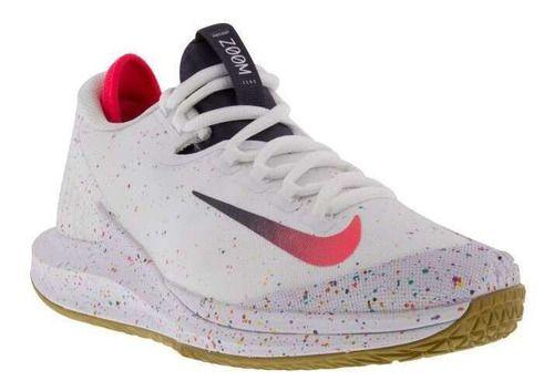 Tênis Nikecourt Air Zoom Zero Hc White/laser Crimsongridiron